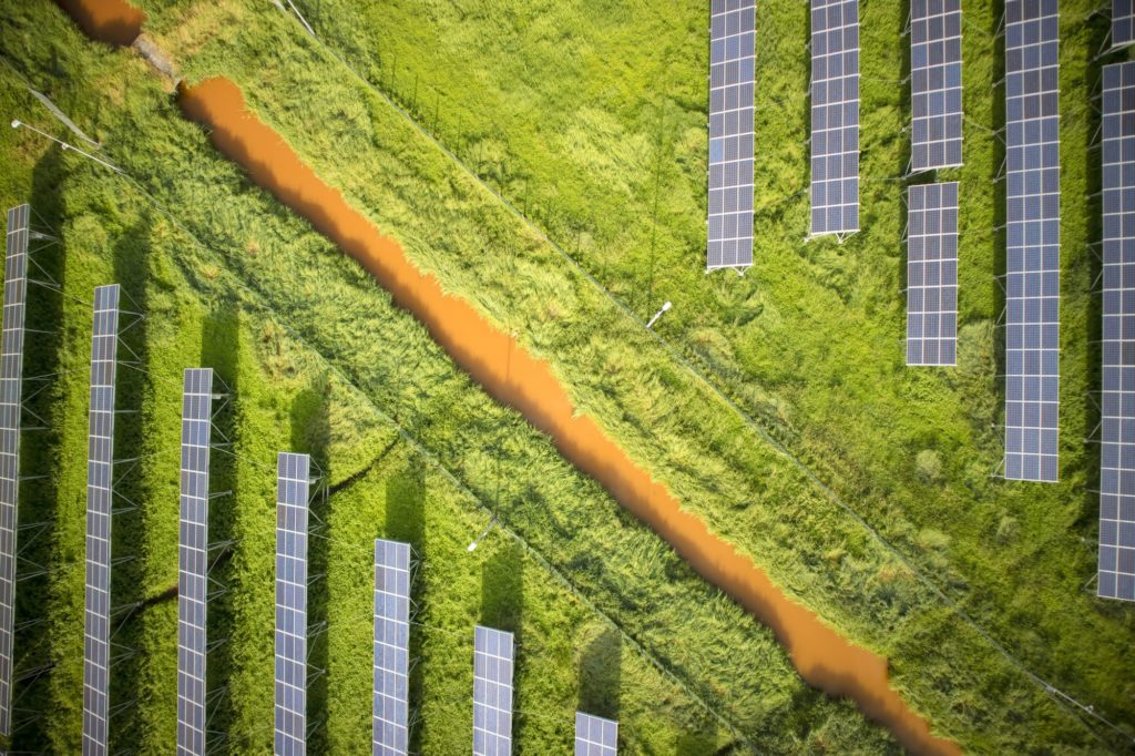 Series of photovoltaic panels